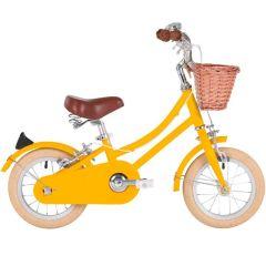 Kinder Velo Bobbin mit Stützräder 12'' für 2- bis 4-Jährige, Retro Fahrrad mit Pedalen, Gratis Versand, Schweizer Lager