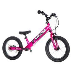 Strider 14'' Kinderfahrrad mit Bremsen ab 3 Jahren, Gratis Versand, pink