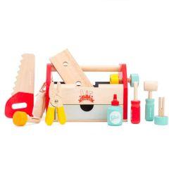 Werkzeugkasten aus Holz, Le Toy Van Spielzeug ab 3 Jahre, Jungen und Mädchen