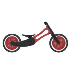 Laufrad Wishbone Bike 2in1, Recycling Edition rot, Gratis Versand, Schweizer Shop