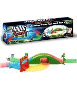 Bridge Kit für flexible Autorennbahn, Magic Tracks