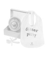 Baby Geschenkset Dinner Party, Geschenk Idee für Neugeborene Bambam