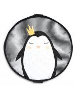 Spielsack 3 in 1 Playmat Play & Go Soft Pinguin