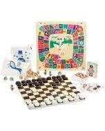 Spielkiste VIlac ab 4 Jahren mit verschiedensten Spielen